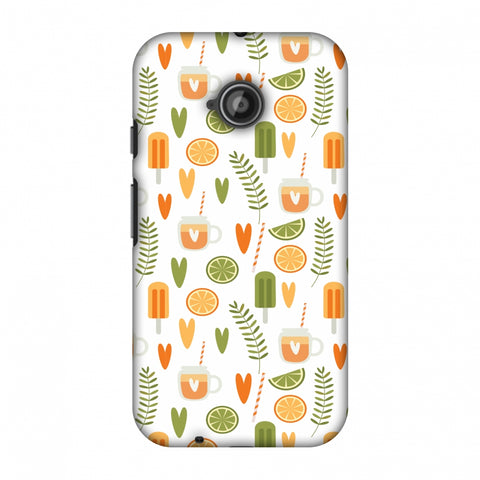 Once Upon A Summer Slim Hard Shell Case For Motorola Moto E 2nd Gen