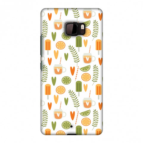 Once Upon A Summer Slim Hard Shell Case For HTC U Ultra