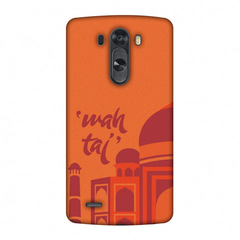 Wah Taj!! Slim Hard Shell Case For LG G4
