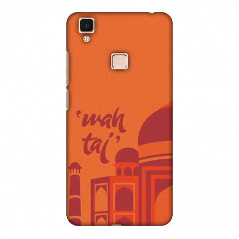 Wah Taj!! Slim Hard Shell Case For Vivo V3 Max
