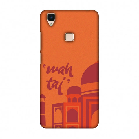 Wah Taj!! Slim Hard Shell Case For Vivo V3