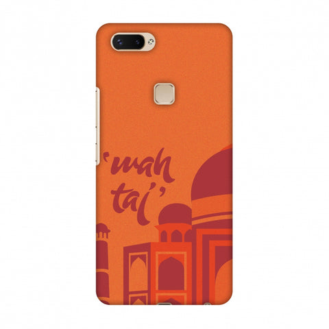Wah Taj!! Slim Hard Shell Case For Vivo X20 Plus