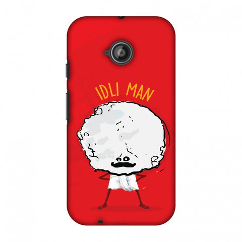 Idli Man Slim Hard Shell Case For Motorola Moto E 2nd Gen