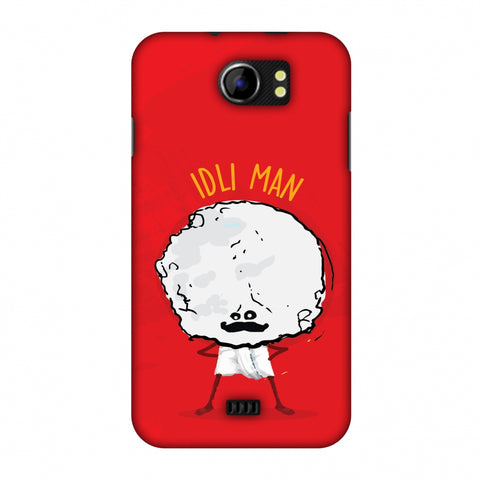 Idli Man Slim Hard Shell Case For Micromax Canvas 2 A110