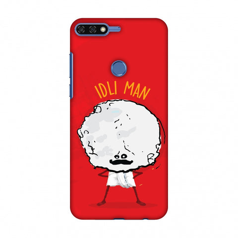 Idli Man Slim Hard Shell Case For Huawei Honor 7C