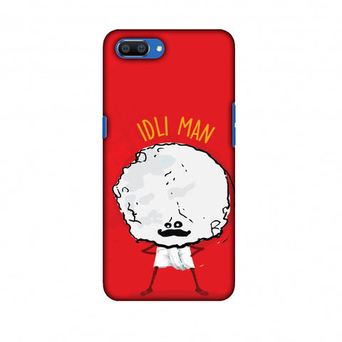 Idli Man Slim Hard Shell Case For Oppo Realme C1
