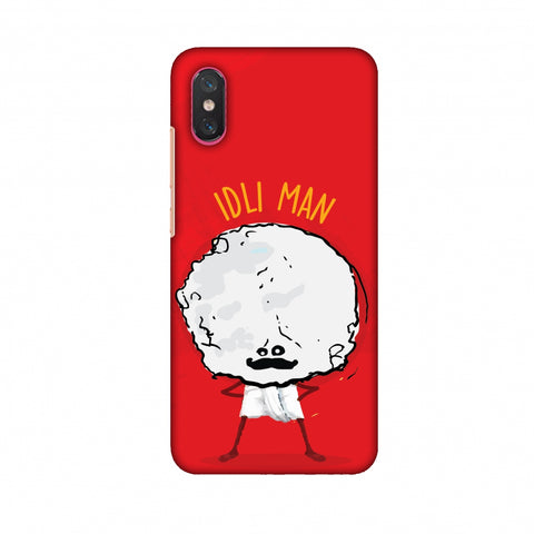 Idli Man Slim Hard Shell Case For Xiaomi Mi 8 Pro