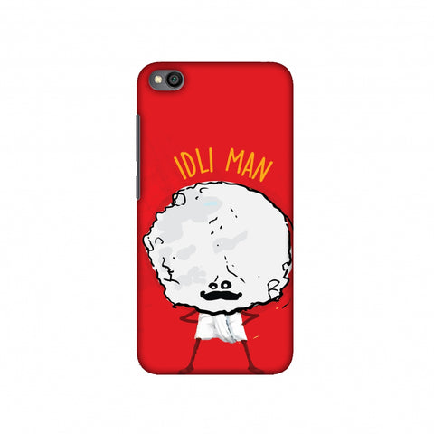 Idli Man Slim Hard Shell Case For Redmi Go