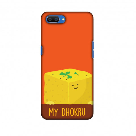 My Dhokru Slim Hard Shell Case For Oppo Realme C1
