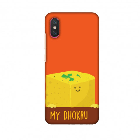 My Dhokru Slim Hard Shell Case For Xiaomi Mi 8 Pro
