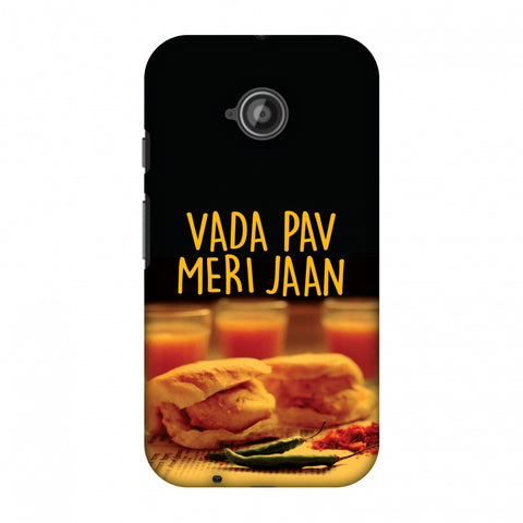 Vada Pav Meri Jaan! Slim Hard Shell Case For Motorola Moto E 2nd Gen