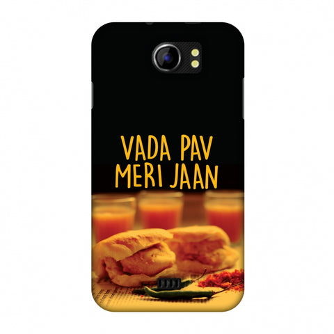 Vada Pav Meri Jaan! Slim Hard Shell Case For Micromax Canvas 2 A110