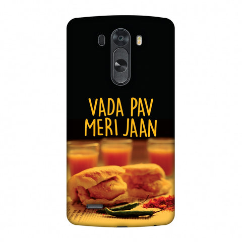 Vada Pav Meri Jaan! Slim Hard Shell Case For LG G4