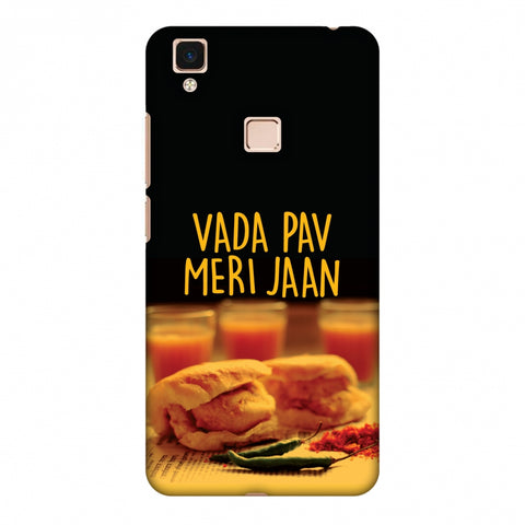 Vada Pav Meri Jaan! Slim Hard Shell Case For Vivo V3 Max