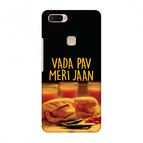 Vada Pav Meri Jaan! Slim Hard Shell Case For Vivo X20 Plus