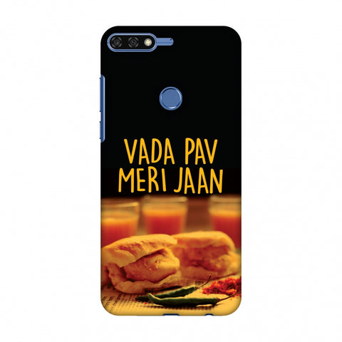 Vada Pav Meri Jaan! Slim Hard Shell Case For Huawei Honor 7C