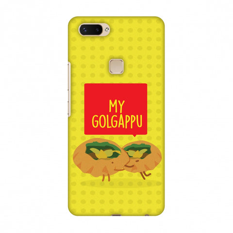 My Golgappu Slim Hard Shell Case For Vivo X20 Plus