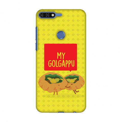 My Golgappu Slim Hard Shell Case For Huawei Honor 7C