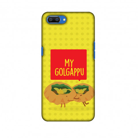 My Golgappu Slim Hard Shell Case For Oppo Realme C1