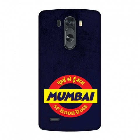 Mumbai Se Hu Boss Slim Hard Shell Case For LG G4