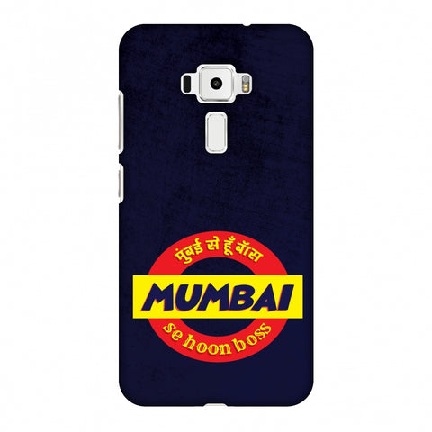 Mumbai Se Hu Boss Slim Hard Shell Case For Asus Zenfone 3 ZE520KL