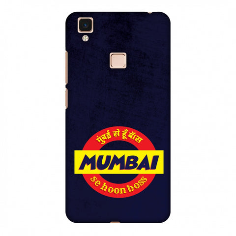 Mumbai Se Hu Boss Slim Hard Shell Case For Vivo V3 Max