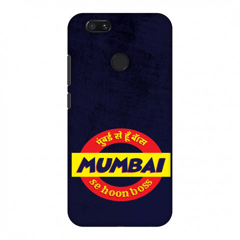 Mumbai Se Hu Boss Slim Hard Shell Case For Xiaomi MI A1-5X
