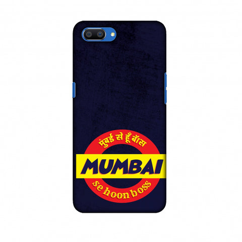 Mumbai Se Hu Boss Slim Hard Shell Case For Oppo Realme C1
