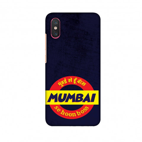 Mumbai Se Hu Boss Slim Hard Shell Case For Xiaomi Mi 8 Pro