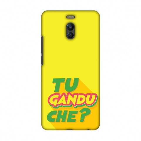 Tu GAndu Che? Slim Hard Shell Case For Meizu Note 6