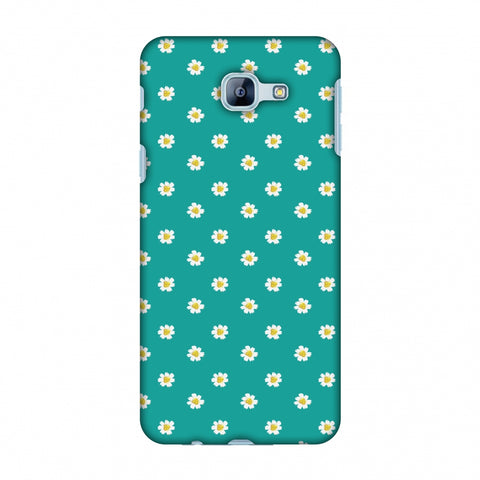 Pretty Patterns: Daisies Slim Hard Shell Case For Samsung Galaxy A8 2016