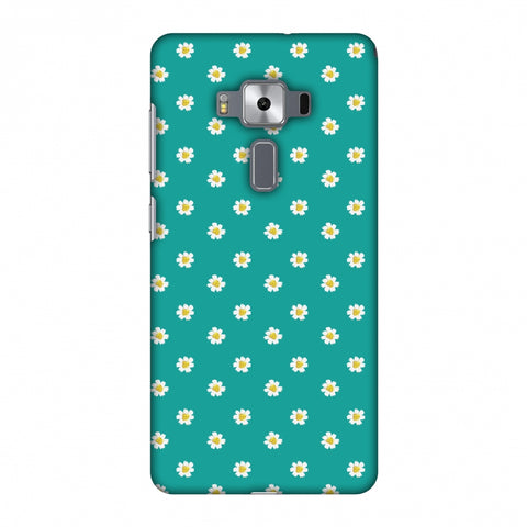 Pretty Patterns: Daisies Slim Hard Shell Case For Asus Zenfone 3 Deluxe ZS570KL