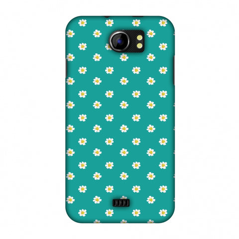 Pretty Patterns: Daisies Slim Hard Shell Case For Micromax Canvas 2 A110