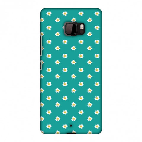 Pretty Patterns: Daisies Slim Hard Shell Case For HTC U Ultra