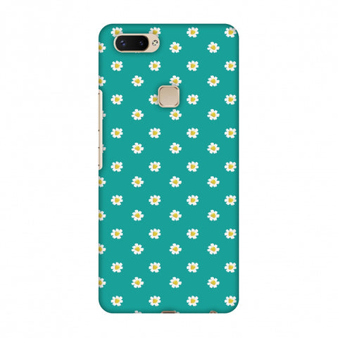 Pretty Patterns: Daisies Slim Hard Shell Case For Vivo X20 Plus