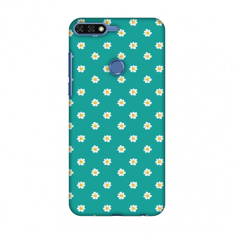 Pretty Patterns: Daisies Slim Hard Shell Case For Huawei Honor 7C