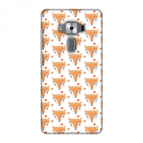 Pretty Patterns: Foxes Slim Hard Shell Case For Asus Zenfone 3 Deluxe ZS570KL