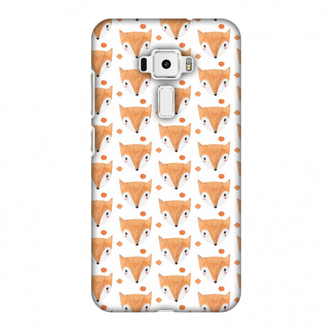 Pretty Patterns: Foxes Slim Hard Shell Case For Asus Zenfone 3 ZE520KL