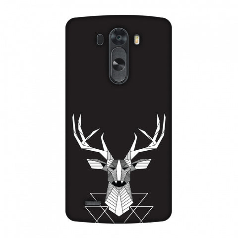 Geometric Deer Slim Hard Shell Case For LG G4