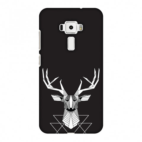 Geometric Deer Slim Hard Shell Case For Asus Zenfone 3 ZE520KL