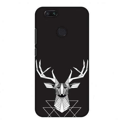Geometric Deer Slim Hard Shell Case For Xiaomi MI A1-5X