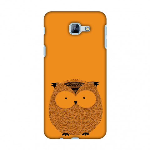 Sketches: Owl Slim Hard Shell Case For Samsung Galaxy A8 2016