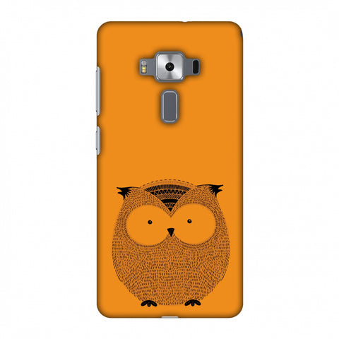 Sketches: Owl Slim Hard Shell Case For Asus Zenfone 3 Deluxe ZS570KL