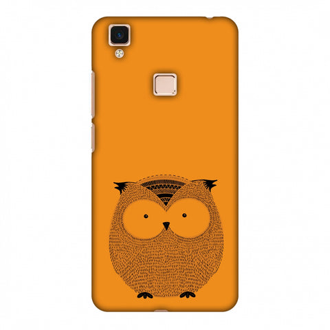 Sketches: Owl Slim Hard Shell Case For Vivo V3 Max