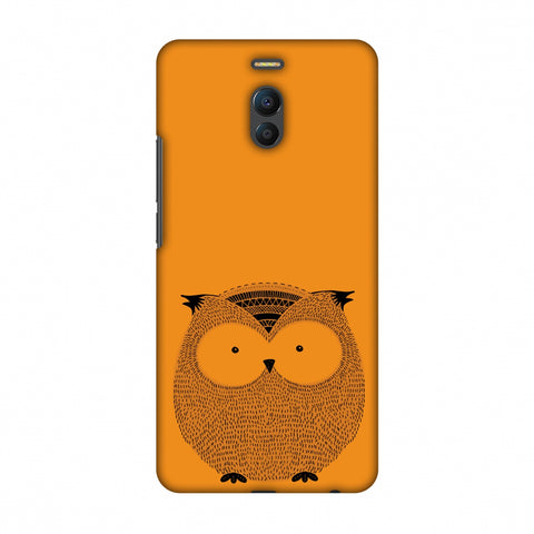 Sketches: Owl Slim Hard Shell Case For Meizu Note 6