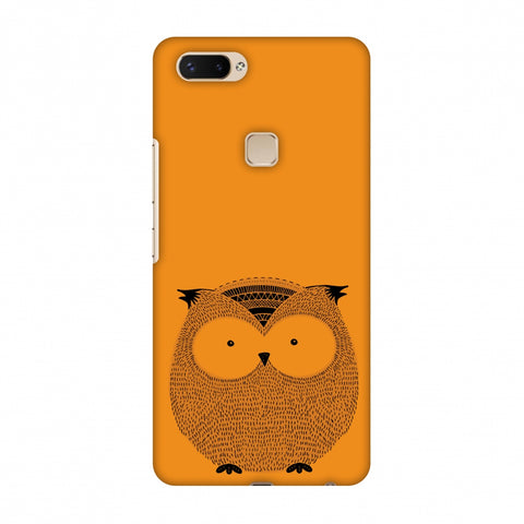 Sketches: Owl Slim Hard Shell Case For Vivo X20 Plus