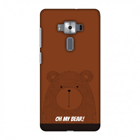 Sketches: Bear Slim Hard Shell Case For Asus Zenfone 3 Deluxe ZS570KL