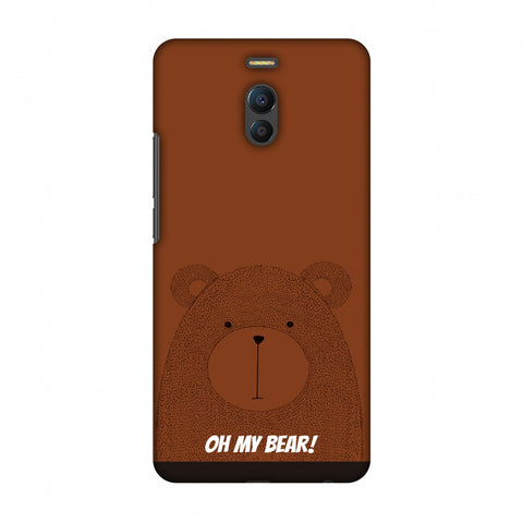 Sketches: Bear Slim Hard Shell Case For Meizu Note 6