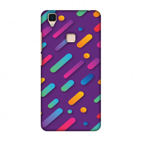 It's Raining Gradients! Slim Hard Shell Case For Vivo V3