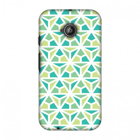 Pretty Patterns: Mozaics Slim Hard Shell Case For Motorola Moto E 2nd Gen